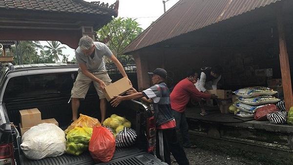 Urgence à Bali, pour les réfugiés 1% d'action sera toujours mieux que 0. Approvisionnement.
