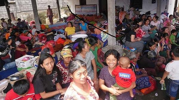 Urgence à Bali, pour les réfugiés 1% d'action sera toujours mieux que 0. Camp de réfugiés
