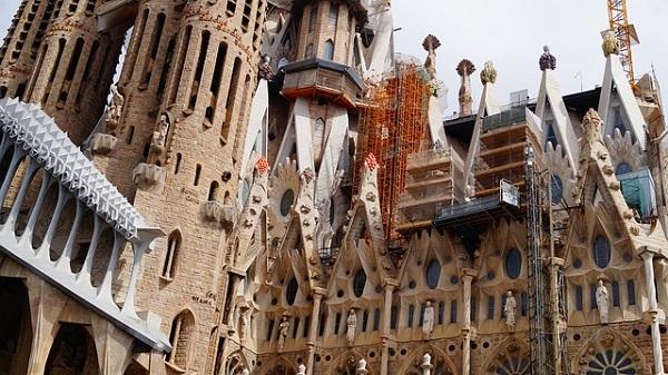 Les adresses véganes préférées de Thibaud du blog Bonjour Barcelone. Sagrada Familia