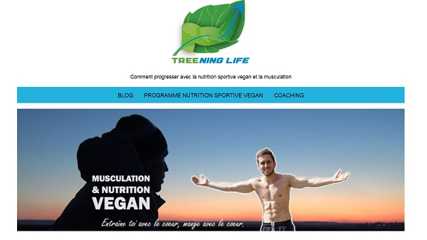 Jérémy, coach en musculation et nutrition vegan pour Treening Life