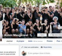 Portrait : Robin Maugenest graine de militant vegan pour les animaux