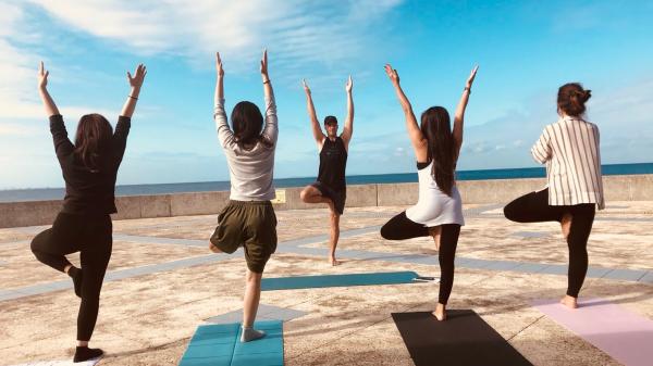 Primal Tracks, alimentation optimale des sportifs vegans mais pas que... Yoga classe