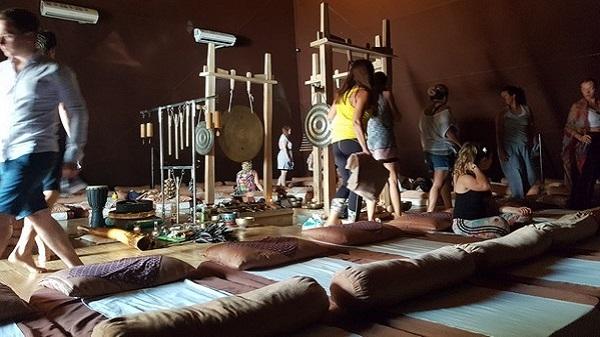 Découverte des Pyramides de Chi à Ubud sur l'île de Bali. Séance
