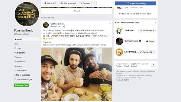 Furahaa Break un restaurant Bio Vegan qui créé du lien et qui fait du bien! Stomy