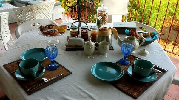 petit déjeuner en vacances