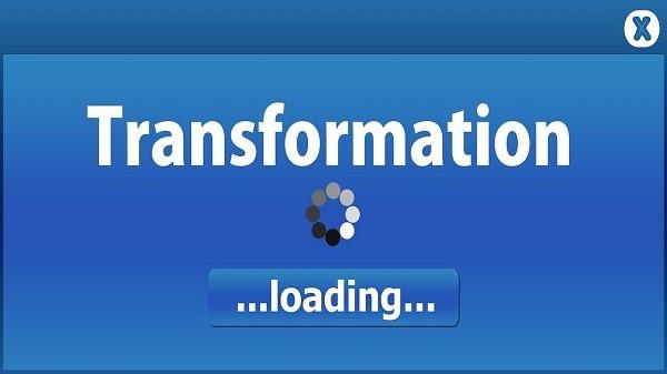 transformation en cours